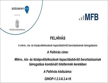 Eszközbeszerzés a CPR Europe Kft. kutatási kapacitásainak növeléséhez