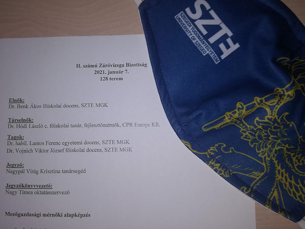 Együttműködésben a Szegedi Tudományegyetem Mezőgazdasági Karával